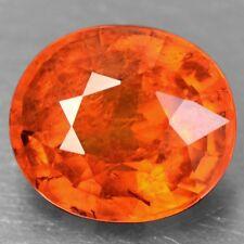 1.94 Cts Natural Lustrous Fanta Orange Mandarin Spessartite Garnet Oval Unheated