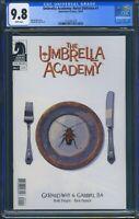 Umbrella Academy Hotel Oblivion 1 (Dark Horse) CGC 9.8 White Pages Gerard Way