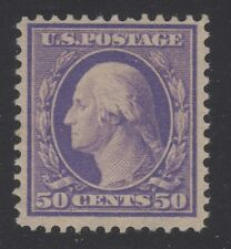 U.S. STAMP  #341---  50c WASHINGTON-FRANKLIN DEFINITIVE -- 1908 -- UNUSED