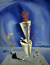 Lámina-Salvador Dali aparatos y mano (Pintura Cuadro Arte del cartel)