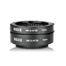 Meike Auto Focus Macro Extension Tube 10mm 16mm for Sony A6500 A6300 A7R A7S A9