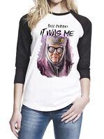 Tell Cersei It Was Me Olenna Tyrell Women Baseball T-Shirt # ZWBSUB949