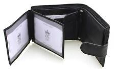 Nouveau Petit vettoli cuir véritable homme portefeuille noir RFID Protection Certifié