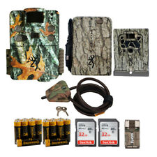 Browning Trail Cameras 18 Mp Strike Force Hd Apex Game Cam Bundle w/ Accessories