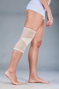 LOREY - Kniebandage, Kniestütze aus Polyesterfasern mit Nanopartikel-Veredelung
