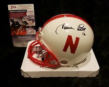 Turner Gill Signed Nebraska Mini Helmet JSA Huskers Cornhuskers