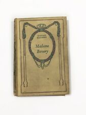 Madame Bovary by Gustave Flaubert ; published Paris 1939 Nelson Éditeurs