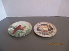 New Listing2 Collector Cardinal Bird Plates