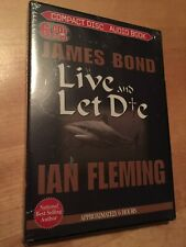 JAMES BOND Live and Let Die by Ian Fleming 6 CD SET Audio Book BRAND NEW SEALED