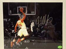 Hassan Whiteside Signed Miami Heat 8x10 Photos COA