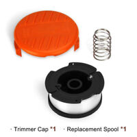 Spool Line And Cap & Spool Spring Replacement For Black&Decker String Trimmer