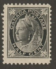 "Canada 1897 #66 Queen Victoria ""Maple Leaf"" Issue - F Used"