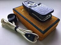 Vintage electric iron Antique Russian Steam Travel Portable Box original USSR 68