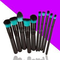 New 10pcs Professional Makeup Brush Set Cosmetic Brushes Make up Tools
