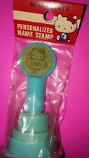 1976 1983 HELLO KITTY SANRIO PERSONALIZED NAME STAMP ( LORI)