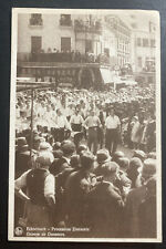 1951 Luxembourg Real Picture Postcard Cover To France Dancing Group