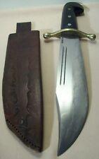 WWII~CASE XX~U.S. ARMY V44 LARGE BOWIE FIGHTING KNIFE COMBAT WEAPON w/SHEATH~