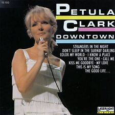 PETULA CLARK : DOWNTOWN / CD - TOP-ZUSTAND