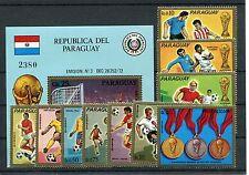 Paraguay 2465/74 Block 207 postfrisch / Fußball ..........................1/1532