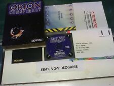 "THE ORION CONSPIRACY  VERSIONE ITA "" RARO"" BOX VERSION"