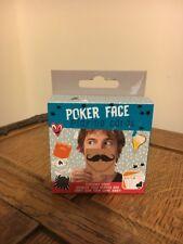 Cara de póquer jugando a las cartas humorístico Naipes Juego Fiesta Juego Regalo de Cumpleaños nuevo