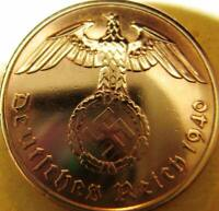 Nazi German 2 Reichspfennig 1940-Year Battle of Britain WW II -Coin Third Reich