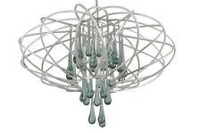 Varaluz 151C05PE Pearl Glass Drop Pendant Ceiling Chandelier Lighting Fixture