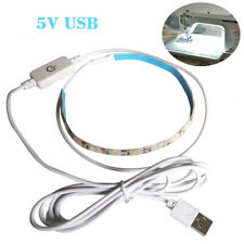 5V Sewing Machine Light Bright Strip Light W/ Touch Dimmer USB Power Supply Tool