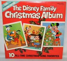 Disney Family Christmas Album With 12-Page Read-Along Lyric Book 1981 ~R1