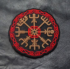 VIKING COMPASS ODIN VEGVISIR 3.5 INCH MAD MAX IRON ON PATCH