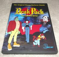 Drak Pack The Complete Series DVD 3-Disc Set 1980s RARE oop animated