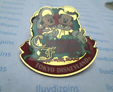 CHRISTMAS FANTASY 2000 - MICKEY &  MINNIE at TOKYO DISNEYLAND Disney Resort Pin
