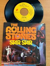 """Rolling Stones - Star Star // 7"""" - 1. German-Pressing 1974 - TOP condition"""