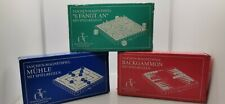 Magnetische Reisespiele Backgammon, Mühle, 6 Fängt an 3x Reisespiele Magnetisch