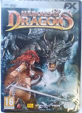 HEROES & DRAGONS. CONTIENE 8 JUEGOS PARA PC.EN 3 DVD. PAL-ESP. NUEVO,PRECINTADO.