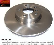 Disc Brake Rotor-3.0i Front Best Brake GP34184 fits 02-03 BMW X5