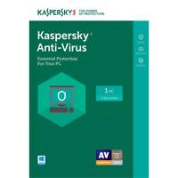 Kaspersky Antivirus Security 2019 1 PC 1 Year License Key for Windows