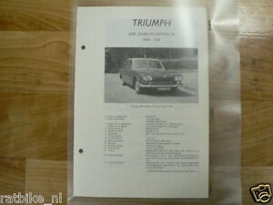 TR1-TRIUMPH 2000, SEDAN EN STATIONCAR 1964-1966--INFO