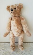 """Anti 00004000 que Teddy Bear Large 22"""" Golden Mohair Humpback Jointed Glass Eyes"""