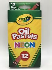 Crayola Neon Oil Pastels, Set of 12