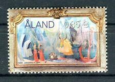 Aland  2007 Arte dipinto di Tove Jansson ideatore fumetti Moomins  Mnh