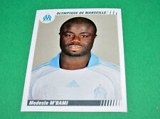 N°252 M'BAMI OLYMPIQUE MARSEILLE OM PANINI FOOT 2009 FOOTBALL 2008-2009