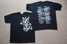Deftones Calavera Pentagrama euro Tour 2006 Juventud T Shirt Oficial Sat night Muñeca