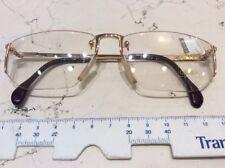 Zeiss Glasant 5954 4000 56-16 occhiale vista nuovo vintage metallo colore oro