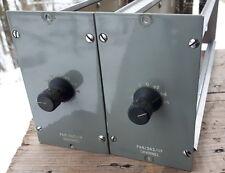 Pair of vintage studio BBC PA8/363 line discrete preamplifiers RARE
