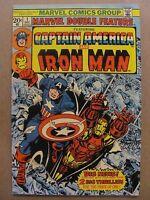 Marvel Double Feature #1 2 3 4 5 6 7 8 9 10 11 Full Run Marvel 1973 Series