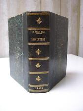 Les Lettres de M. Emile ZOLA et les poursuites Affaire Dreyfus 1898