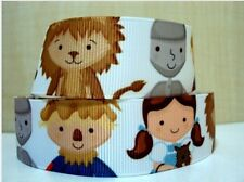 """BTY 1"""" Wizard of Oz Kids Dorothy Grosgrain Ribbon Hair Bows Scrapbook Lisa"""