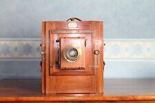 Chambre photographique Gilles-Faller,Trousse aplanastigmatique Hermagis 48080