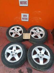 Peugeot 207 15 Inch 15'' Alloy Wheels & Tyres  1856515 2006-2012